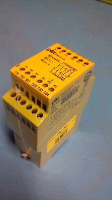 PNOZ X3 Safety Relay, Dual Channel, 24 V ac/dc, 3 Safety, 1 Auxiliary