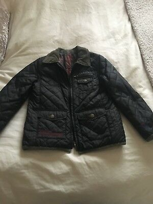 Pepe Jeans (Barbour style) boys coat