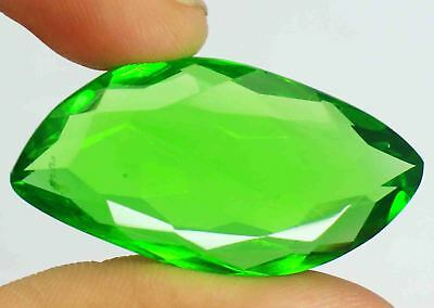 50.45Ct EGL Certified Green Moldavite Wonderful Fancy Shape Loose Gemstone BY907