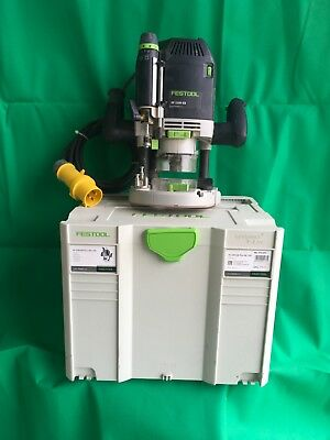Festool OF2200 EB- 110v Router 2200W in Systainer -USED