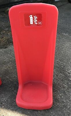 Single Rotationally Moulded Fire Extinguisher Stand