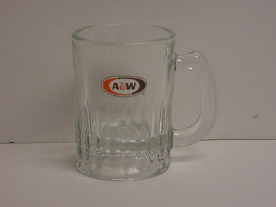 Vintage A & W Root Beer Mug Small 3-1/2 oz New Old Stock 1998 Indiana Glass