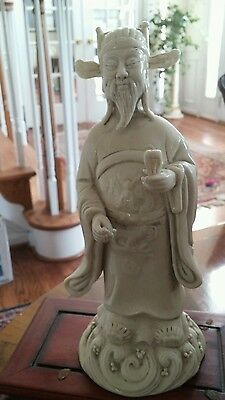 19th Century  Porcelain Chinese Immortal Figure