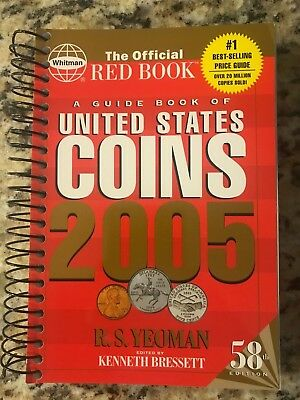 2005 Red Book A Guide Book of United States Coins Price Guide 58th Edition!