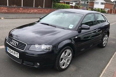 2005 Audi A3 2.0 tdi sport - 130k miles, full black leather, excellent condition
