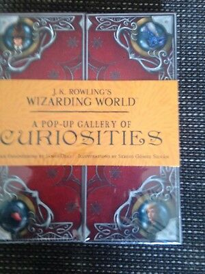 BRAND NEW HARDCOVER j k rowling Wizarding World Pop Up Gallery Hardcover £20