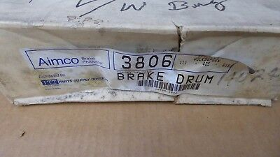 Brand New Aimco Front Brake Drum 3806 / 123.33005 Fits Vehicles Listed On Chart