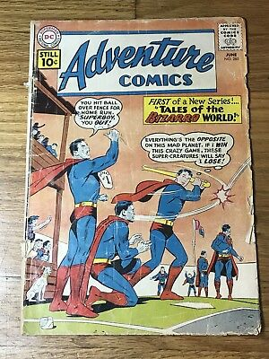 Adventure Comics 285 FIrst Tales of the Bizarro World! Free bag and board