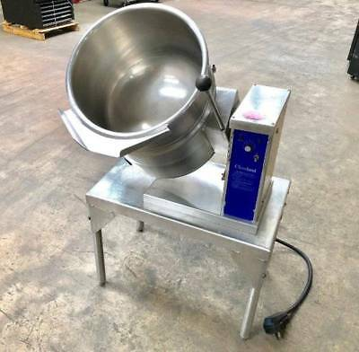 Cleveland 12 Gallon Steam Jacket Stainless Steel Tilt Soup Kettle KET-12-T 48 Qt