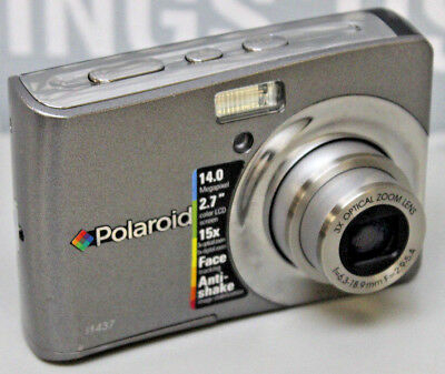 Tested/Working Polaroid I1437 14MP Digital Camera