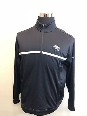 Nike Golf Therma Fit Embroidered Golf Course Dark Gray Zip Jacket Size Medium M