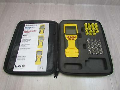 Klein Tools VDV Scout Pro LT VDV501-108 Tester And Remote Kit Near Complete