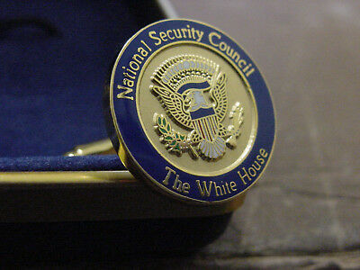 Pair presidential National Security council cufflinks   New  NSC