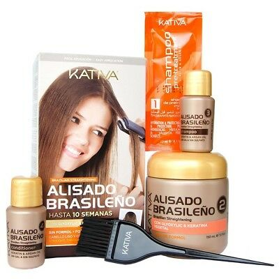 Kativa Keratin and Argan Oil Brazilian Straightening NEW Kit!
