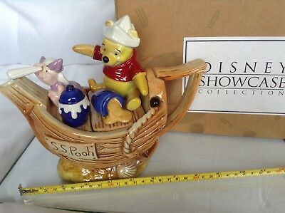Boxed Perfct New Cardew Collectable Disney Showcase Captain Pooh Novelty Teapot