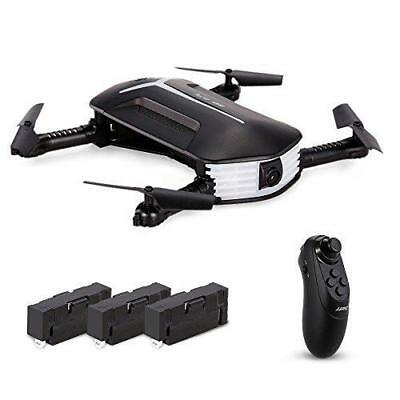 Goolsky H37 Mini Drone with 720P Camera Live Video Selfie Foldable G-sensor RC