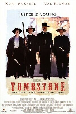 TOMBSTONE - MOVIE POSTER 24x36 - RUSSELL KILMER 160751