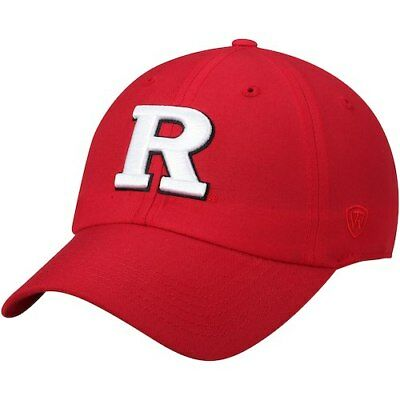 reputable site 846d2 1bd67 Rutgers Scarlet Knights Top of the World Primary Logo Staple Adjustable Hat  -