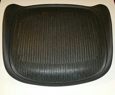 ByHerman Miller Aeron Chair Parts - Replacement Seatpan Size B Black OEM