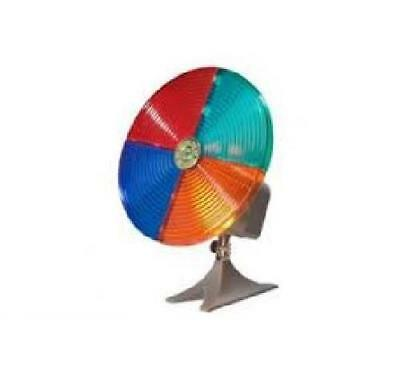4 Section Color Wheel for Silver Christmas Tree. New