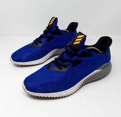 9d68033526a79 Adidas Original ALPHABOUNCE Running Sneakers Collegiate Royal Men s Size  11.5