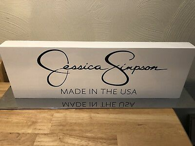 Jessica Simpson Made In The USA Brand Store Display Sign RARE!