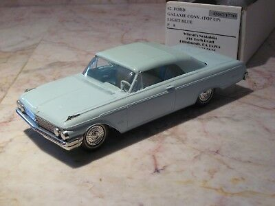1962 Ford Convertible-Top Up!, Promo With Adv.on Chassis, From Wheat's Nostalgia