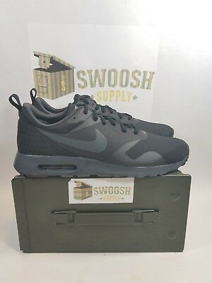 Nike Air Max Tavas 705149-010 Black Anthracite Men's Sportswear Running Shoes