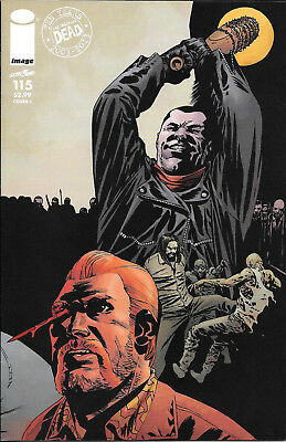 The Walking Dead #115 NM Cover J Variant First Print  All Out War Negan