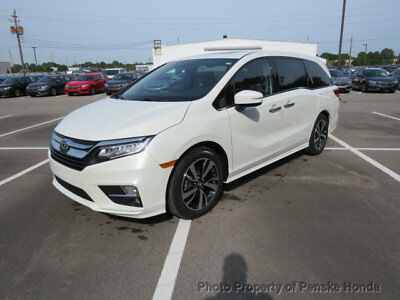 Honda Odyssey Elite Automatic Elite Automatic New 4 dr Van Automatic Gasoline 3.5L V6 Cyl White Diamond Pearl