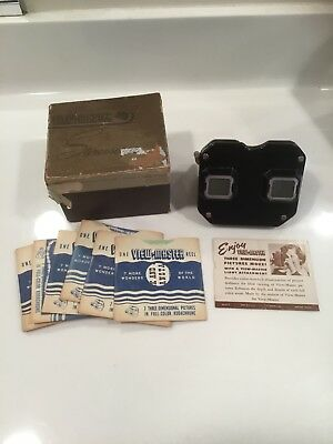 Vintage View Master Sawyer's Inc. Portland Oregon with box and 8 Reels.