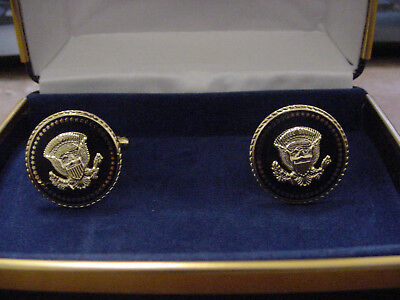 Pair of  Presidential George H. W.  Bush   cufflinks