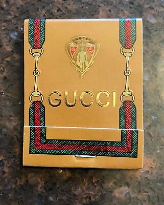 RARE Vintage GUCCI MATCHES Unused Matchbook Mint Condition!