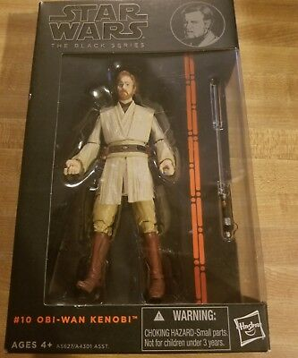Hasbro Star Wars The Black Serie Obi-Wan Kenobi Jedi Master ACTION FIGURE  AS1