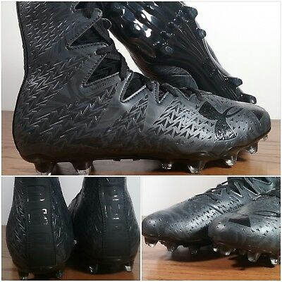 86da9e77b Under Armour UA Highlight Lux MC Football Cleats Black Men s Sz 9.5  1297953-001