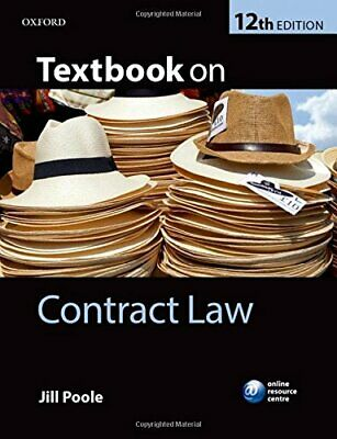 Textbook on Contract Law 12/e by Poole, Jill Book The Cheap Fast Free Post