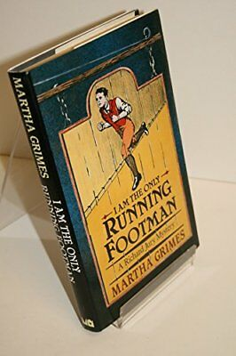 I am the Only Running Footman by Grimes, Martha Hardback Book The Cheap Fast