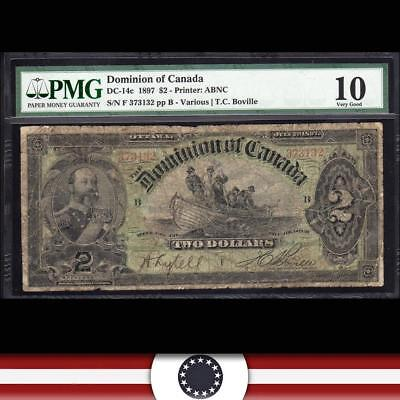 1897 $2 DOMINION OF CANADA PMG 10 DC-14c   373132