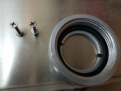 """Fire Truck Hose Mounting Ring Nozzle Holder Adapter Plate 2-1/2"""" New Female"""