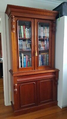 Bookcase Display Cabinet - Antique Reproduction
