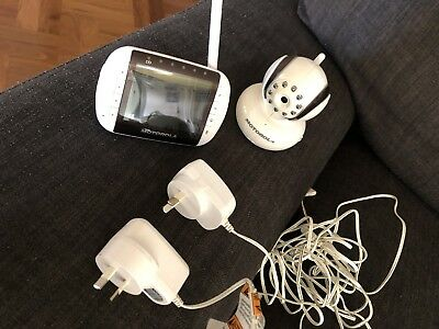 Motorola Mbp36s Digital Video Baby Monitor White