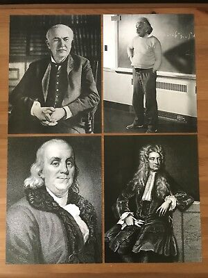 Back to the Future Doc Brown Mantle Photos Pictures Prop Replicas Set (ALL 4)