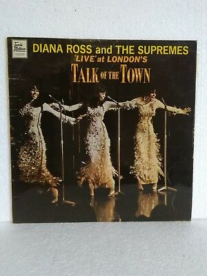 LP Vinyl ,, Diana Ross and the Supremes - Live , Talk of the Town , Sammlungsauf