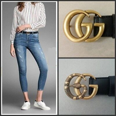 Womens Genuine Leather Thin Belts For Jeans 0 9 Belt For Womens Pants G_G