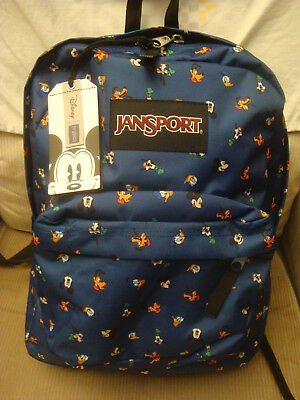 f39aa2a86fe JANSPORT DISNEY SUPER Break Disney Gang Dot School Backpack Nwt ...