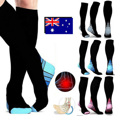 2018 15-35mmHg Medical Compression Socks Support Stockings Travel Flight Socks