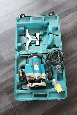 """Makita Router 3612C Variable Speed 1/2"""" Plunge Router 110v with Case & Bits set"""