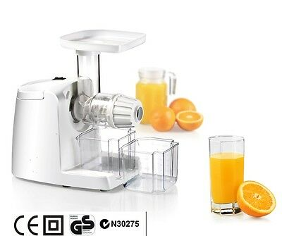 New Slow Juicer Fruit Juice Extractor Fountain Cold Press Free Post!