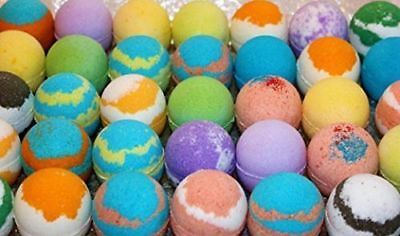 WholeSale  lots of 30 various   Type Bath Bomb Fizzies. 2.5oz  Made Fresh