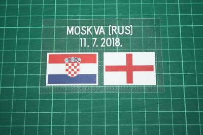 CROATIA World Cup 2018 Away Shirt Match Details CROATIA Vs ENGLAND